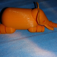 Small Elephant 3D Printing 21212