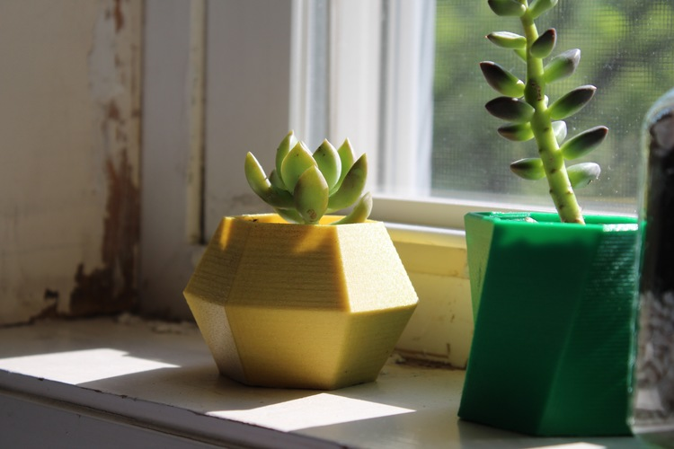 Hexagon Planter 3D Print 21235
