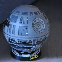 Small Death Star HQ (Star Wars) 3D Printing 21355
