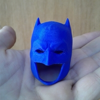Small Batman Cowl 3D Printing 21401