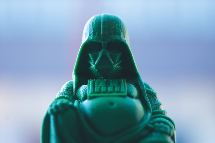 Darth Vader Buddha with saber 3D Print 21438