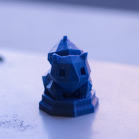 Small Pokemon Chess Set (Magnetic) 3D Printing 21439