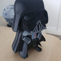 Small Cute Darth Vader 3D Printing 21478