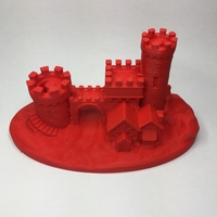 Small Castle Gate 2 3D Printing 21488