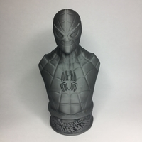 Small VINTAGE SPIDER-MAN BUST 3D Printing 21489