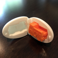 Small Surprise Egg #1 - Tiny Haul Truck 3D Printing 21495
