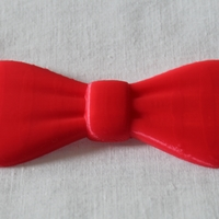Small Bowtie ( clips on to button ) 3D Printing 21530