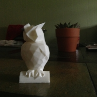 Small Owl 3D Printing 21533