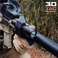 Small 3DTAC - AIRSOFT TACTICAL TORCH / LAMP MOUNT 3D Printing 21540