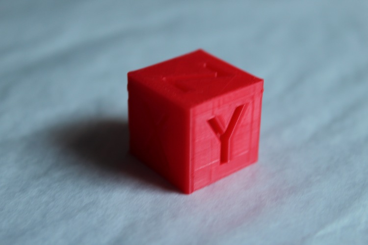 XYZ 20mm Calibration Cube 3D Print 21592