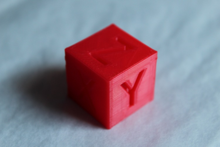 XYZ 20mm Calibration Cube 3D Print 21594