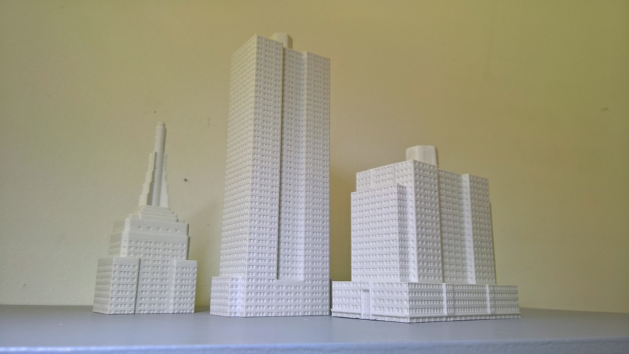 Empire State Building (400 mm) 3D Print 21654