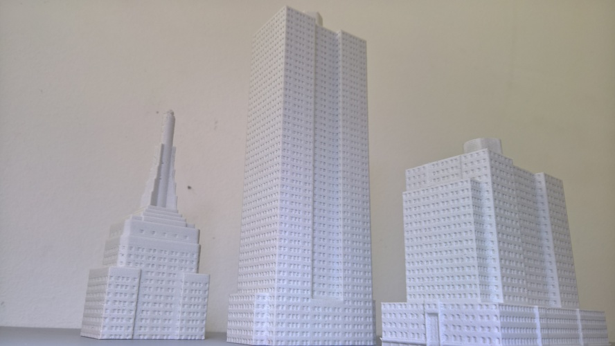 Empire State Building (400 mm) 3D Print 21655