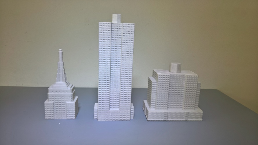 Empire State Building (400 mm) 3D Print 21656