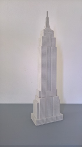 Empire State Building (400 mm) 3D Print 21657