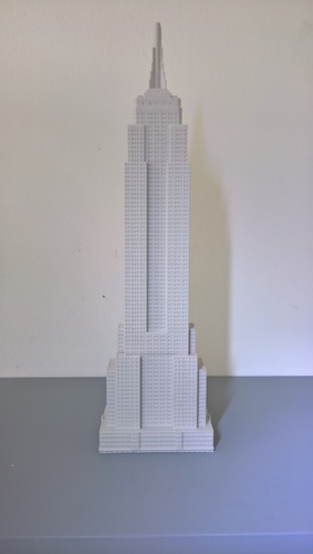 Empire State Building (400 mm) 3D Print 21658
