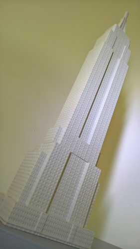 Empire State Building (400 mm) 3D Print 21659