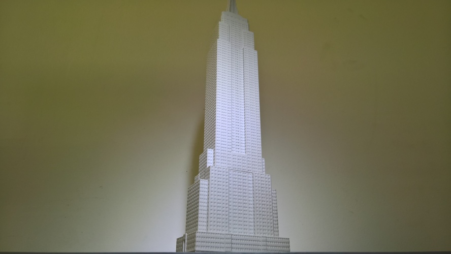 Empire State Building (400 mm) 3D Print 21661