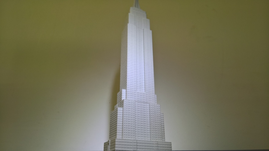Empire State Building (400 mm) 3D Print 21662