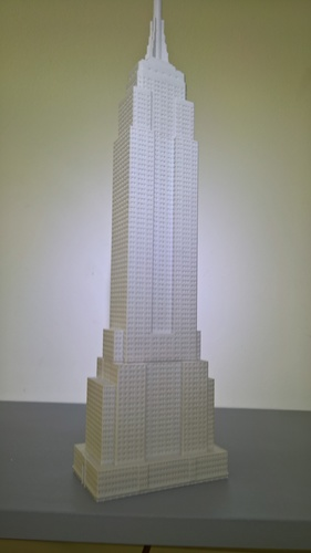 Empire State Building (400 mm) 3D Print 21663