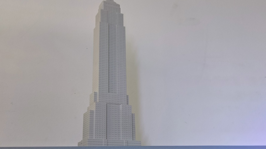 Empire State Building (400 mm) 3D Print 21664