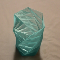 Small Geometric Vases 3D Printing 21665