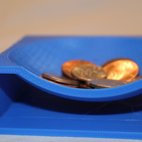 Small Coin Tray 3D Printing 21671