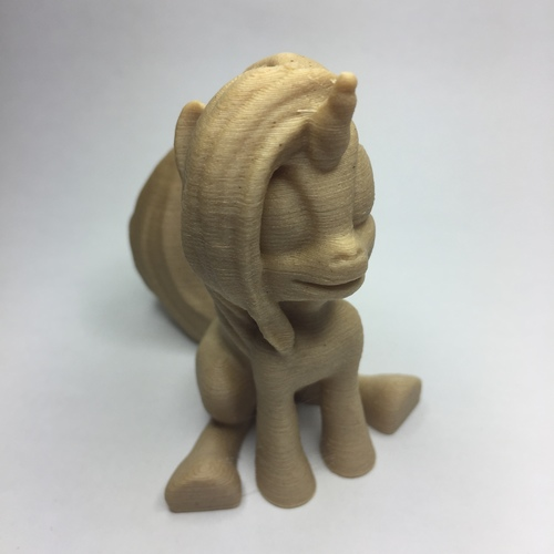 MLP Based Unicorn (Easy Print No Supports ) 3D Print 21706