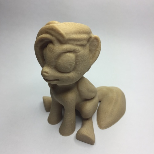 MLP Based Pegasus (Easy Print No Supports ) 3D Print 21711