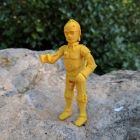 Small C3PO 3D Printing 21735