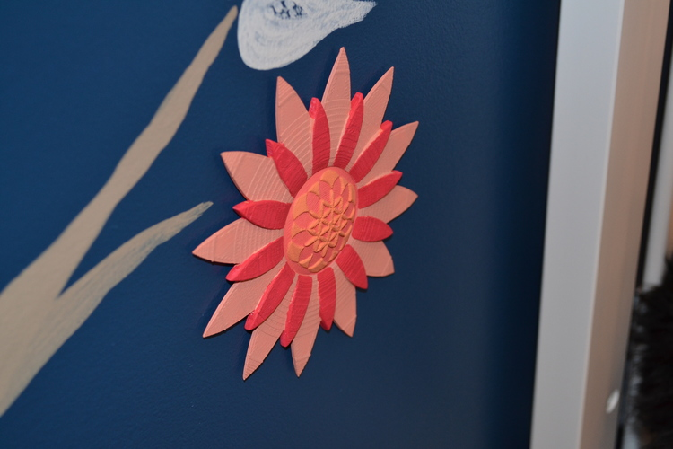 Life Flower Wall Art 3D Print 21740