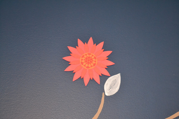 Life Flower Wall Art 3D Print 21742