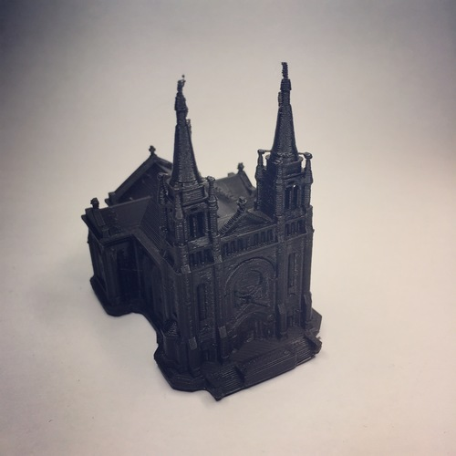 Sioux Falls Cathedral, South Dakota 3D Print 21749
