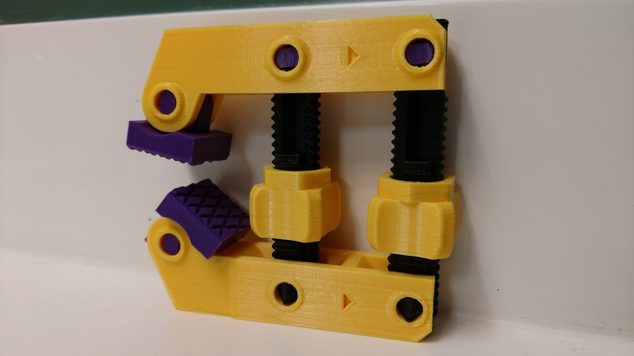 Hand-Screw Clamp 3D Print 21760