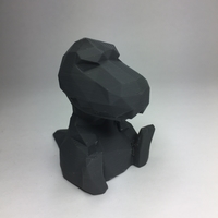 Small Low Poly T-rex 3D Printing 21811
