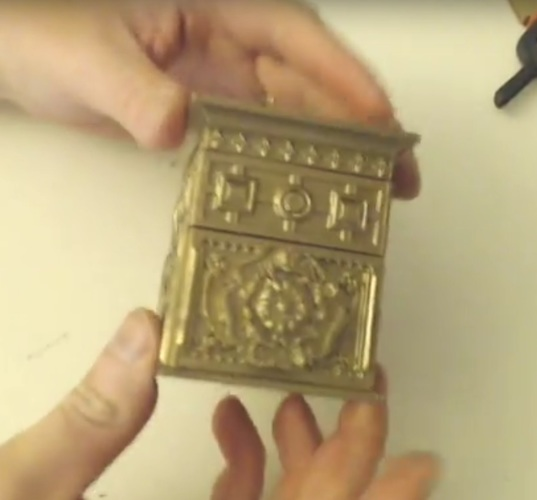 The Tudor Rose Box (with secret lock) 3D Print 21827