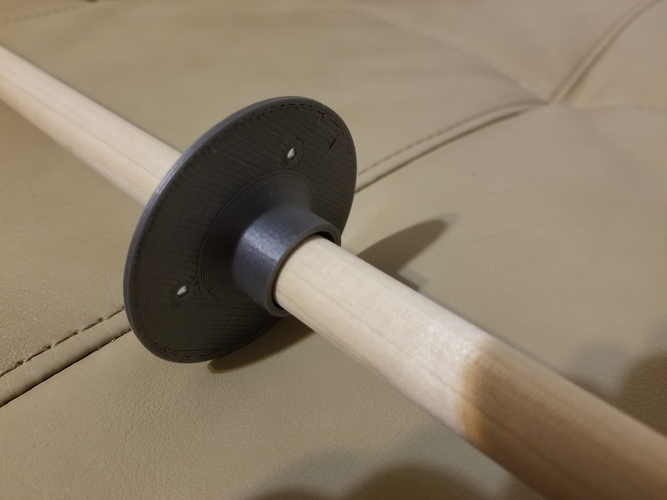 Dowel Holder 3D Print 21861