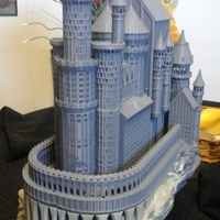 Small Medieval Castle 3D Printing 21906