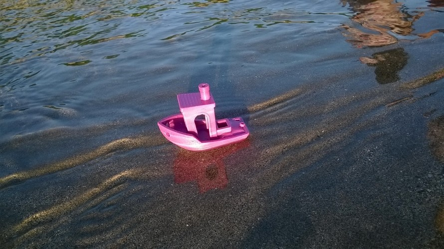 #3DBenchy - The jolly 3D printing torture-test 3D Print 2200