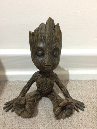 baby groot with base 3D Print 22042