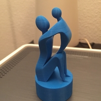 Small Mother's Day Sculpture  3D Printing 22111