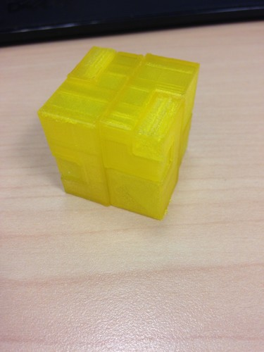 Apparently Impossible Cube 3D Print 22135