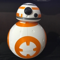 Small BB8 DROID - STAR WARS: THE FORCE AWAKENS 3D Printing 22159