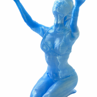 Small The Sorceress 3D Printing 22304