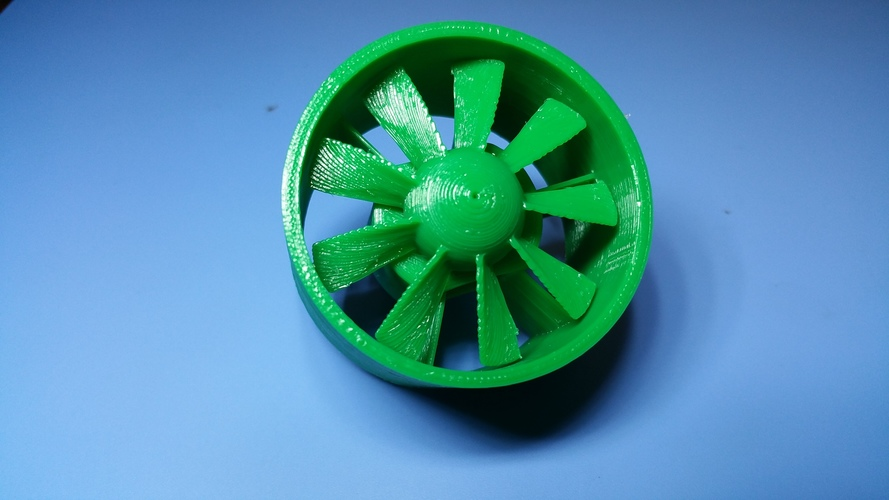 EDF duct fan for 20mm diameter DC motor 3D Print 22386