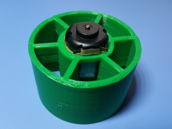 EDF duct fan for 20mm diameter DC motor 3D Print 22388