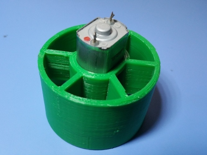 EDF duct fan for 20mm diameter DC motor 3D Print 22389