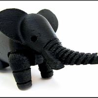 Small Elephant 3D Printing 2239