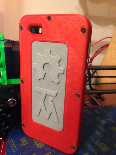 iPhone 5/5S case 3D Print 2240