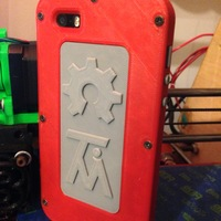 Small iPhone 5/5S case 3D Printing 2240